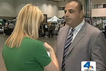 NBC 4 Los Angeles interviews Freddy Sayegh about Hempcon and Measure D